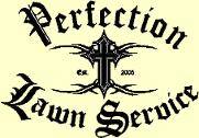 Perfection Lawn Service, Logo